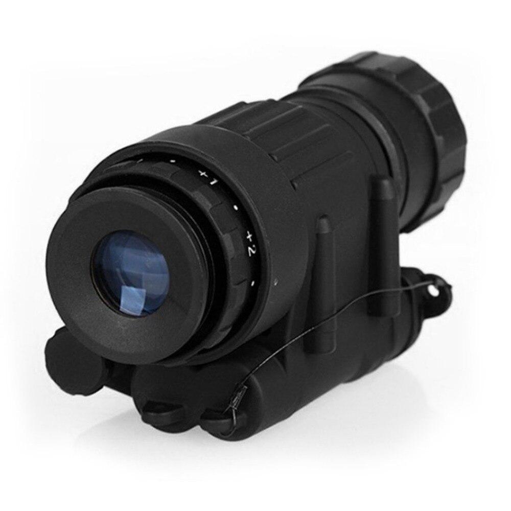 Jagd Nachtsicht Zielfernrohr Monokulare Gerät Wasserdichte Nachtsicht Brille PVS-14 Digitale IR Beleuchtung Für Helm Neue