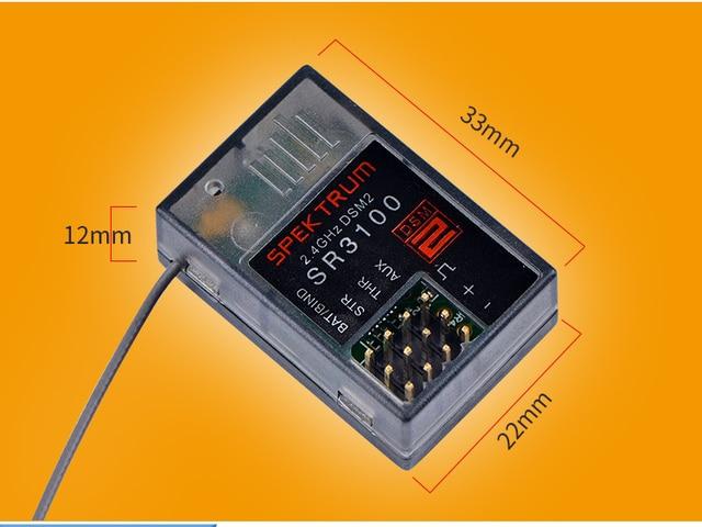 2.4GHZ 3 canaux SR3100 adapté à DX3R DX2E DX5C télécommande voiture et bateau