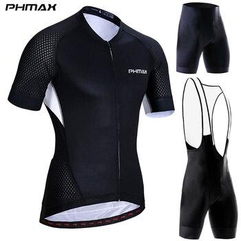 PHMAX-Ropa de Ciclismo profesional para hombre, Maillot, conjunto de camisetas de Ciclismo