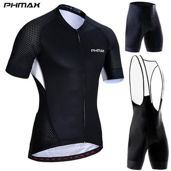 Ropa de Ciclismo PHMAX Pro, Ropa de Ciclismo de montaña, Maillot, Ropa...
