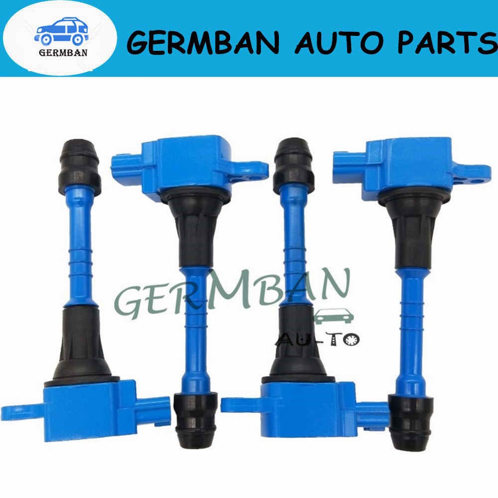 OEM Quality Ignition Coil 4PCS for Infiniti FX50 M56// Nissan Altima Sentra Versa