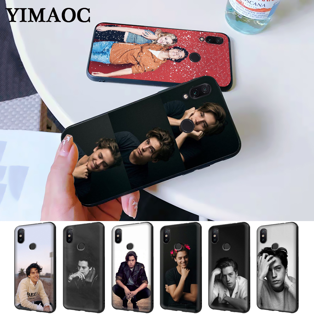 Cole Sprouse Silicone Case for Redmi Note 4X 5 Pro 6 5A Prime 7 8