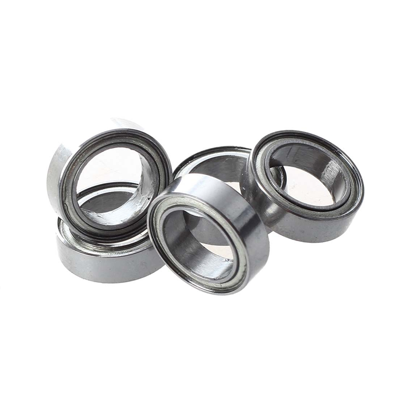 5 Pcs 8 X 12 X 3.5mm Double Shielded Deep Groove Ball Bearings MR1280Z