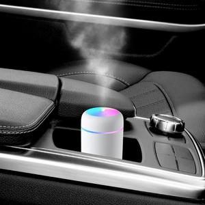 Портативный Электрический увлажнитель воздуха 300 мл, аромадиффузор с USB, распылитель холодного тумана с красосветильник ночником для дома и автомобиля Увлажнители воздуха      АлиЭкспресс