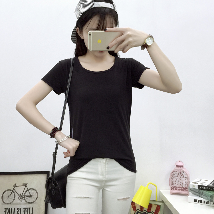O-Neck New Cotton T-shirt Women Printing T Shirt Summer Clothing Female 2020