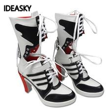 Аксессуары для косплея взрослых; ботинки Джокера Куинна и отряда самоубийц; обувь Харли; костюмы для женщин на Хэллоуин