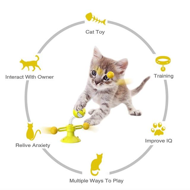 Interactive Playtime Kitten Toy  5