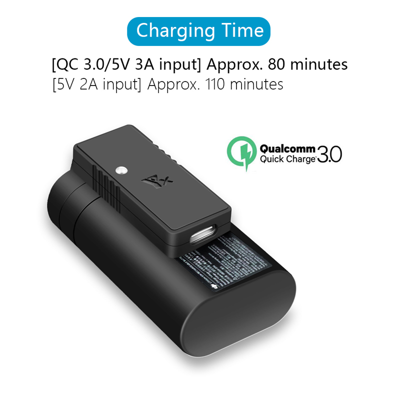 Fast Charging QC3.0 USB Battery Charger Adapter for DJI Mavic Mini Drone /& Cable