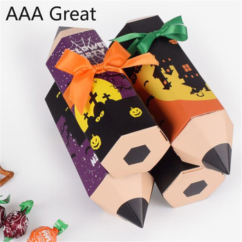 50Pcs/Lot Gift Box Packaging Wedding Favors Candy Boxes Wedding Pencil Decoration Party Supplies Paper Bag Hollywood Chocolate