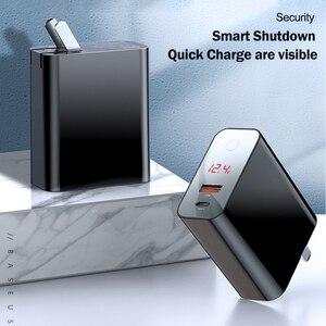Image 5 - Baseus Quick Charge 4,0 3,0 USB зарядное устройство для iPhone 11 Pro Max Samsung Huawei мобильный телефон QC4.0 QC3.0 QC Type C PD быстрое зарядное устройство