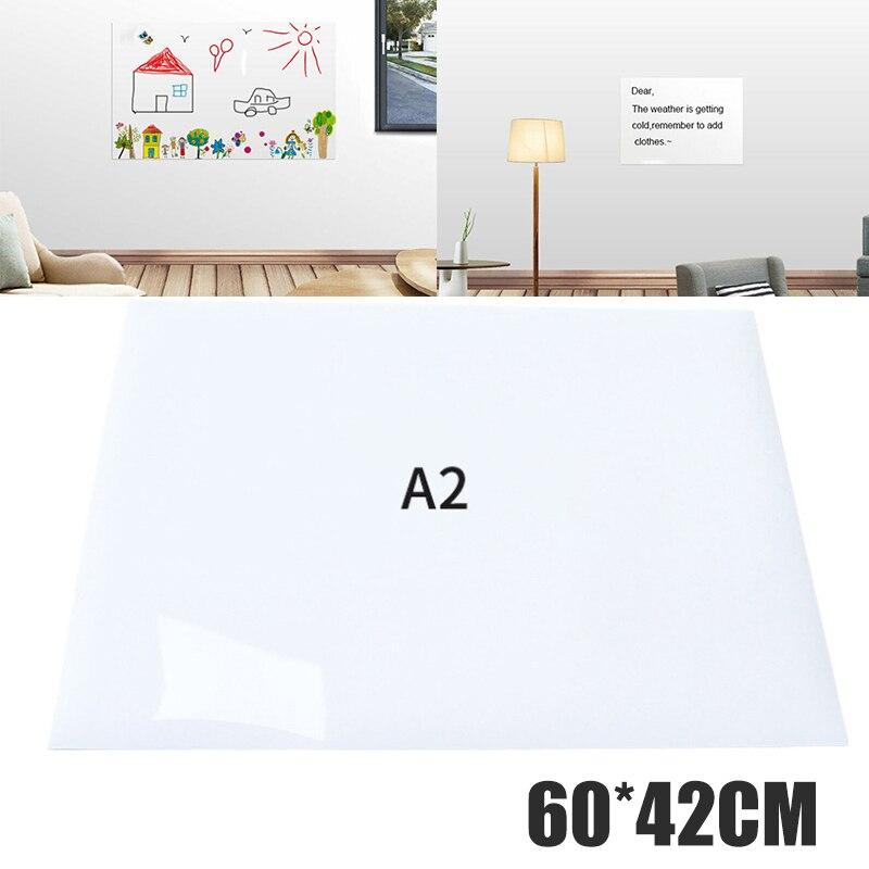 Самоклеящаяся наклейка для маленькой доски размером А2 60*42 см, перезаписываемая доска с сухим стиранием, детская живопись, товары для дома и