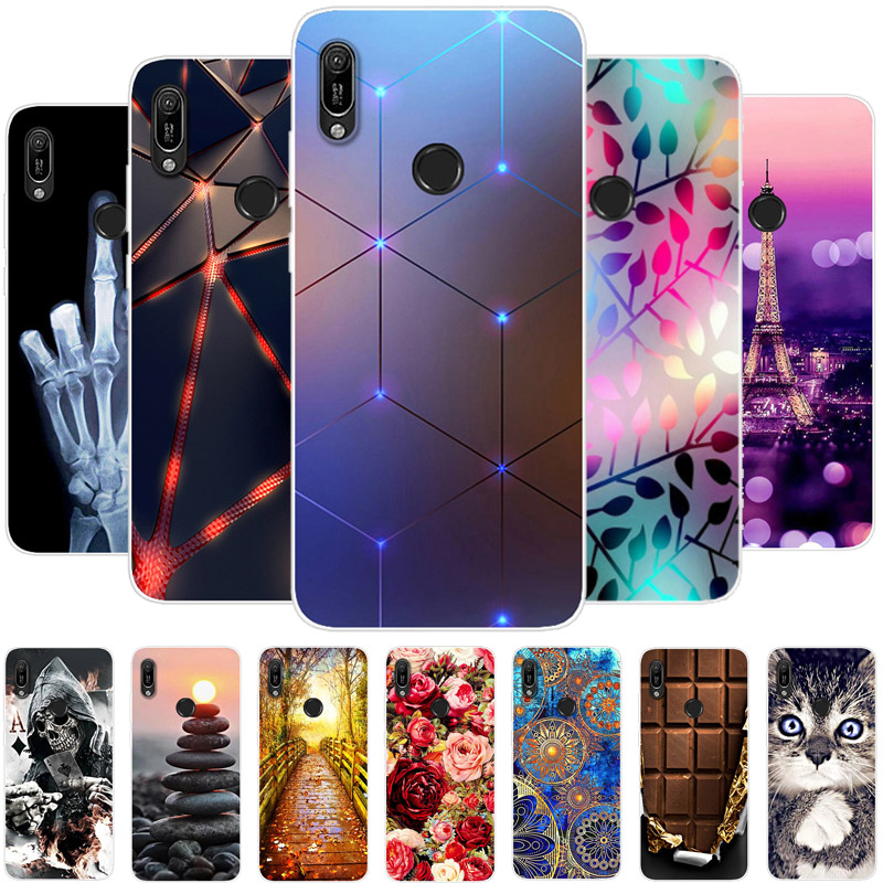 For <font><b>Huawei</b></font> <font><b>Y6</b></font> <font><b>2019</b></font> <font><b>Case</b></font> Soft Silicone Back <font><b>Cover</b></font> Bag Phone <font><b>Case</b></font> For <font><b>Huawei</b></font> Y6S <font><b>Y6</b></font> Prime Pro <font><b>2019</b></font> Y 6S <font><b>2019</b></font> TPU <font><b>Case</b></font> Y6S 2020 image