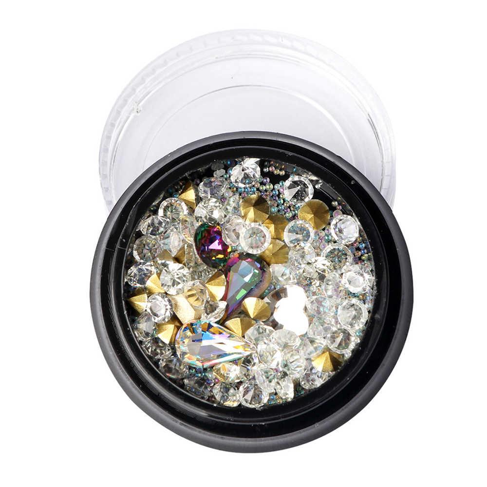 10pc 18x25mm Oval Diamantes de Imitación de Cristal Vidrio Trasero Afilado Joyería Apliques de Arte en Uñas