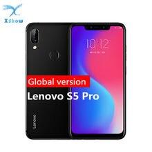 Lenovo s5 pro versão global 6.2 polegada 6gb 64gb smartphone quatro câmera celulares 3500mah telefone móvel
