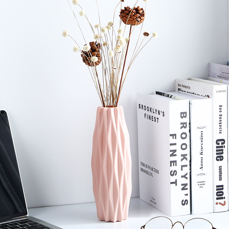 Image 3 - Nordic vase home flower arrangement flower living room modern creative simple fresh water culture home decoration ornaments-in Vases from Home & Garden