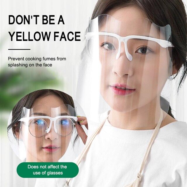 Splash proof Διαφανής μάσκα προστασίας / γυαλιά