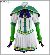 Yoyocos uma musume: bonito derby cosplay traje silêncio suzuka tokai teio semana especial cosplay cavalo menina semana especial dia das bruxas