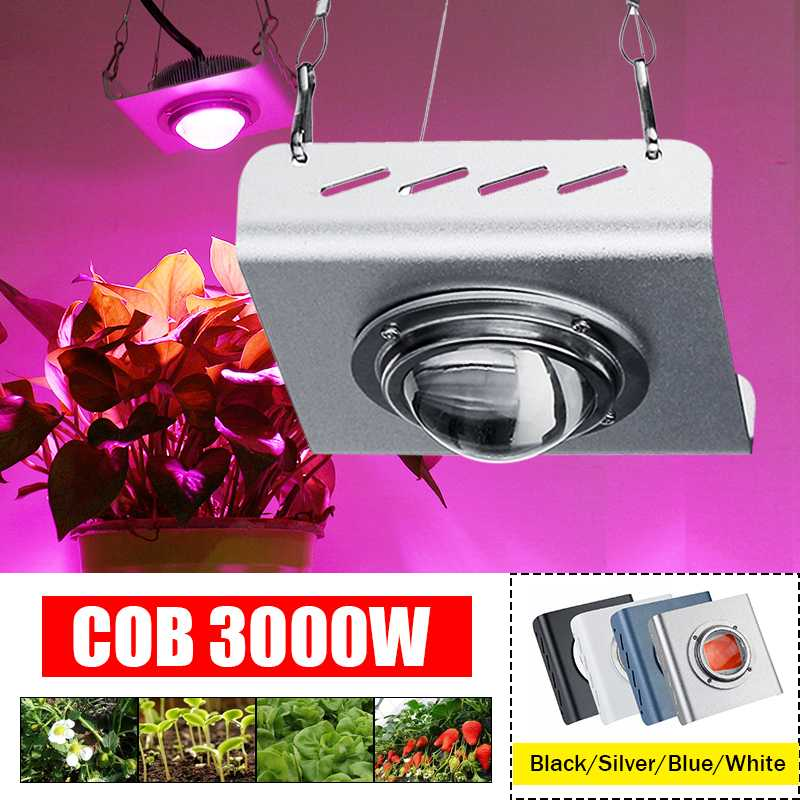 COB LED Grow Light 3000W Full Spectrum 4000K For Indoor Outdoor Hydroponic Greenhouse Plant Growth Lighting Lamp Waterproof