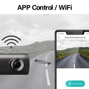 Image 4 - 70mai Smart Dash Cam 1S Tiếng Anh Điều Khiển Giọng Nói 70 Mai Camera 1080P 130FOV Wifi 70mai DVR Xe Ô Tô ghi Âm Xe Hơi Tự Động Đầu Ghi Wifi