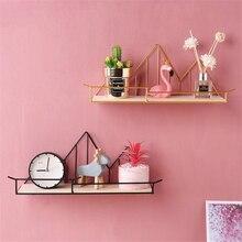 Настенные полки с гвоздями, металлические и деревянные настенные полки для спальни, ванной комнаты, гостиной, кухни