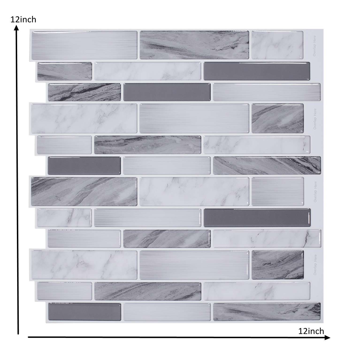 - 3D Wall Stickers Peel And Stick Wall Tile Backsplash Bathroom
