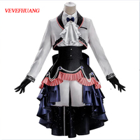 VEVEFHUANG Black Butler Ciel Phantomhive cosplay costume Twins Gothic uniform dress halloween costumes for women man clothes