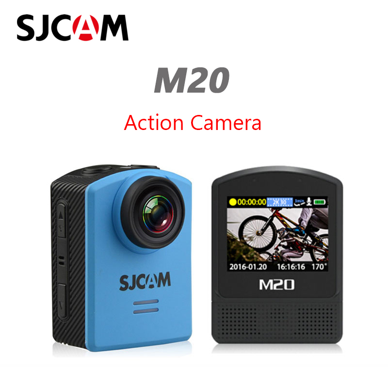 Original SJCAM M20 Sports Action Camera 4K Wifi Gyro Outdoor mini Camcorder 2160P HD 16MP SJ Cam 30m Waterproof Extreme Sport DV-in Sports & Action Video Camera from Consumer Electronics    1
