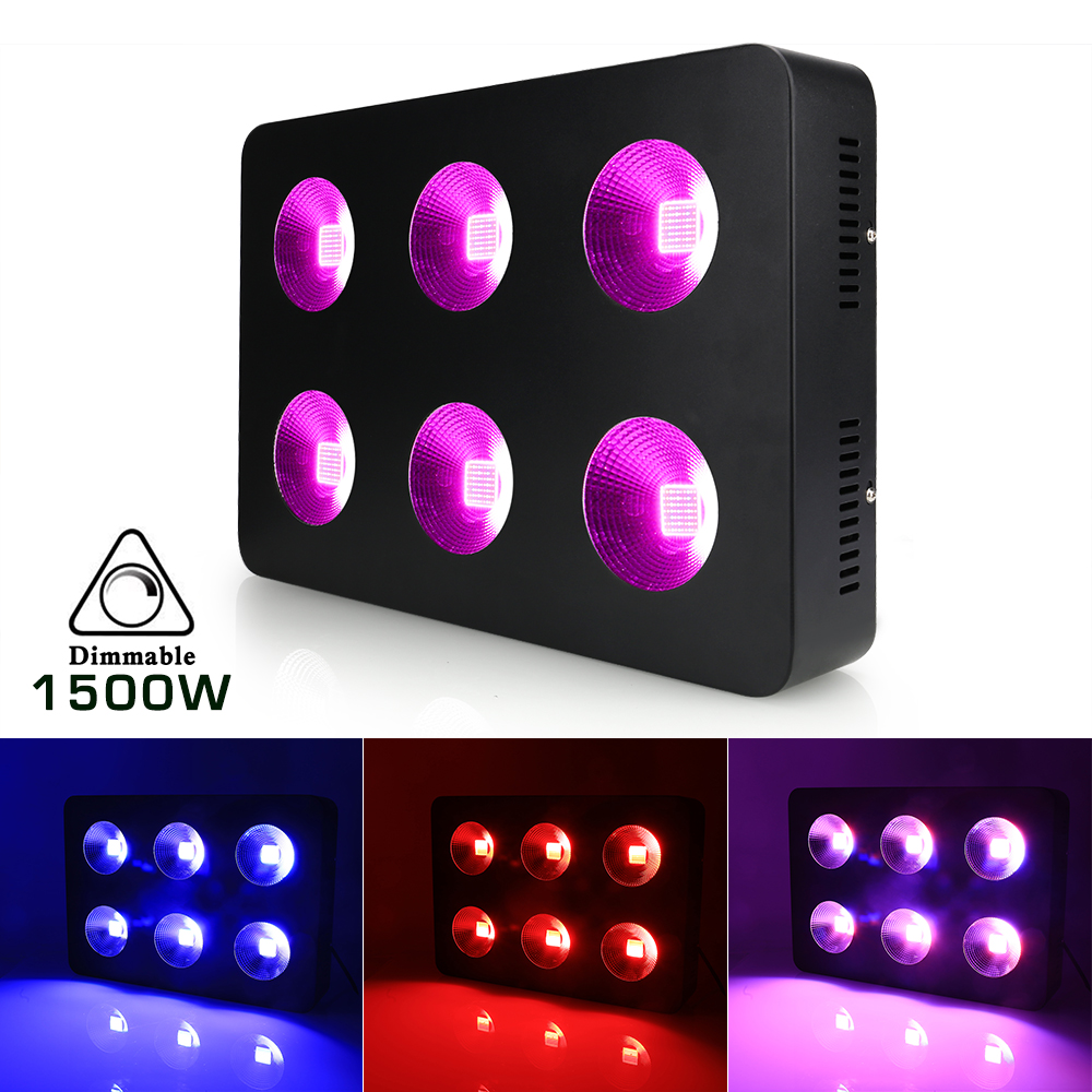 LED Grow Light Full Spectrum LED Plant Growing Lamp Veg For All Indoor Plants LED Plant Lights For Indoor Plants