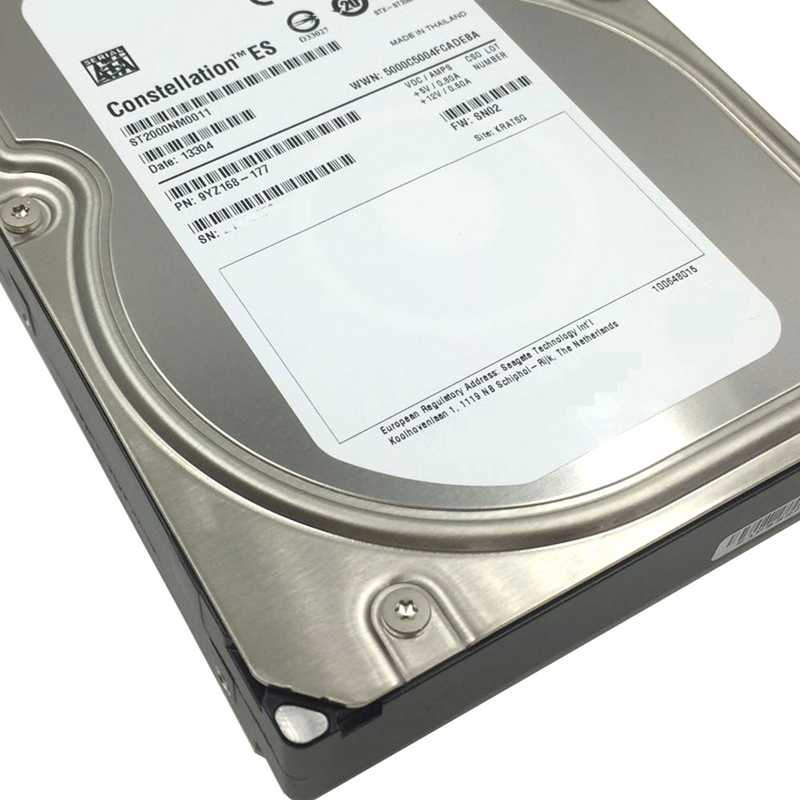 """New HDD For Seagate 2TB 3.5"""" SATA 6 Gb/s 64MB 7200RPM For Internal HDD For Enterprise Class HDD For ST2000NM0011 5"""