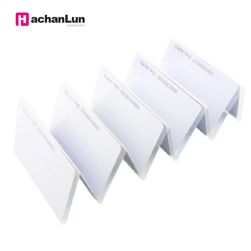 HaChanLun 100pcs UID RFID 13.56mhz Sticker Key Fob Token Ring Proximity Chip Block 0 Sector Writable Duplicator Copy IC Tag Tags