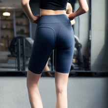 Women Sports High Waist Shorts Athletic Gym Yoga Workout Fitness Sports Leggings Briefs Athletic Breathable Running Yoga Shorts цена 2017