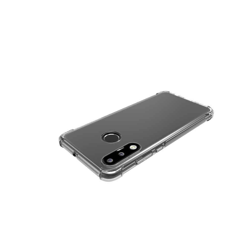 Krzemu skrzynka Huawei P30 Pro P8 P9 P10 P20 Lite Plus Mate 20 Pro Nova 3i skrzynka Huawei P Smart Plus Y6 Y7 Prime Pro 2019 okładka