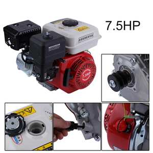 Starter Petrol-Engine 4-Stroke Gasoline Engine-Accessories Recoil-Starting 168F Air-Cooled