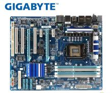 цена на original motherboard for Gigabyte GA-P55A-UD3R LGA 1156 DDR3 16GB For I5 I7 CPU P55A-UD3R P55 Desktop motherboard Free shipping
