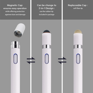 Image 5 - Universal Touch Pen For samsung galaxy note 10 plus 9 8 Smart Capacitance pen For iPhone iPad Tablet Multi function Touch screen