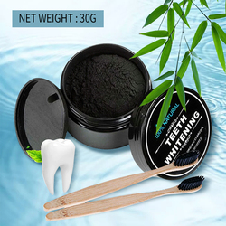 30g Teeth Whitening Kit Oral Care Charcoal Powder Natural Activated Charcoal Teeth Whitener Powder Oral Hygiene