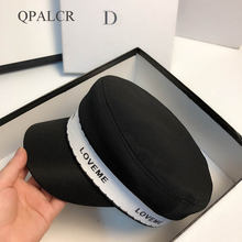 Qpalcr 2020 новые шапки для женщин модная военная шапка хлопковая