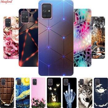 Popular Case For Samsung Galaxy A71 A51 M40s Case Soft TPU Back Cover Case For Samsung A71 M40S A51 Case A 71 M40 s A 51 Coque
