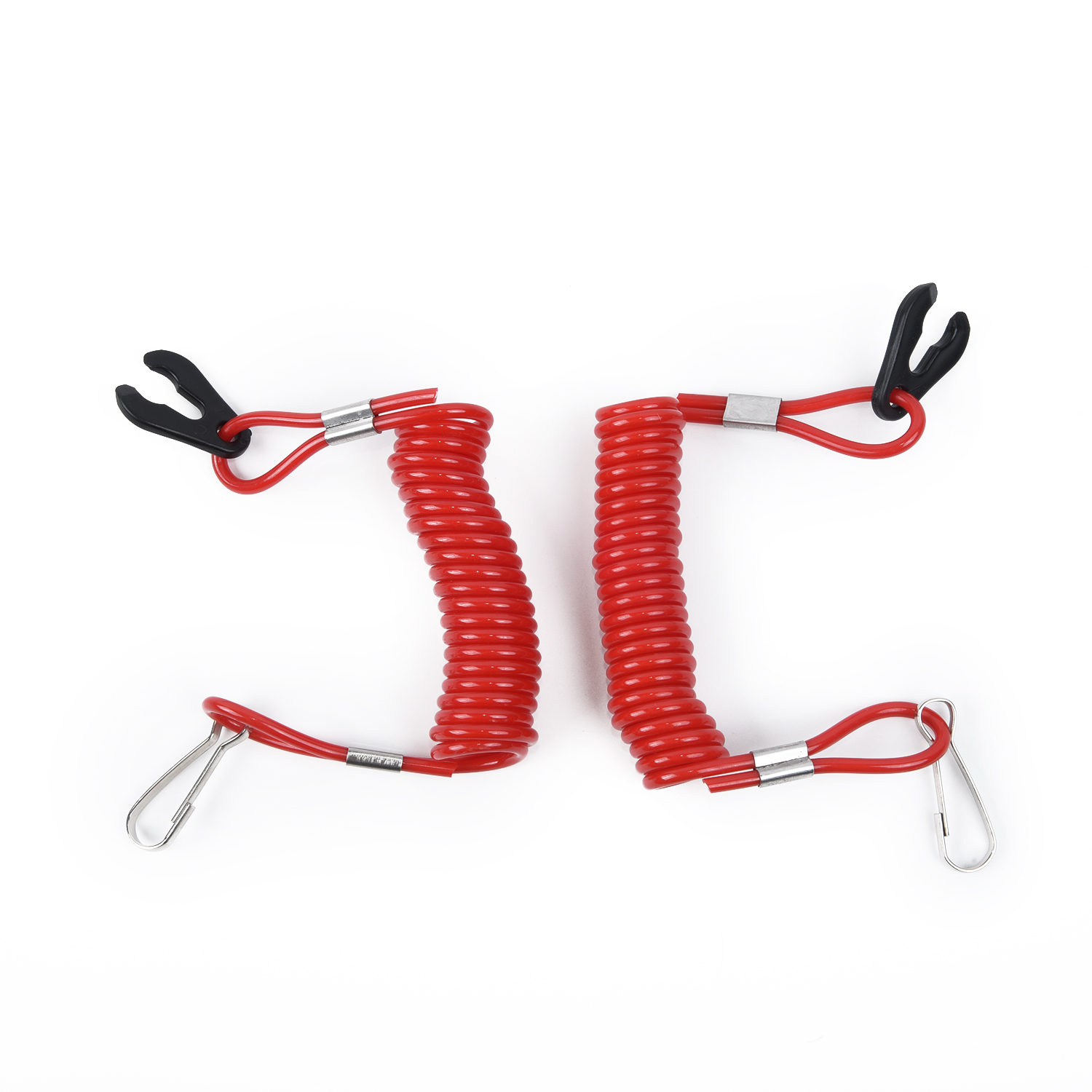 2x Boat Emergency Stop Engine Kill Switch Safety Ropes Fit For Mercury Durable