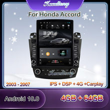 Auto-Radio DSP Tesla-Style Stereo Android-10.0 Honda Accord Multimedia-Player Gps Navigation