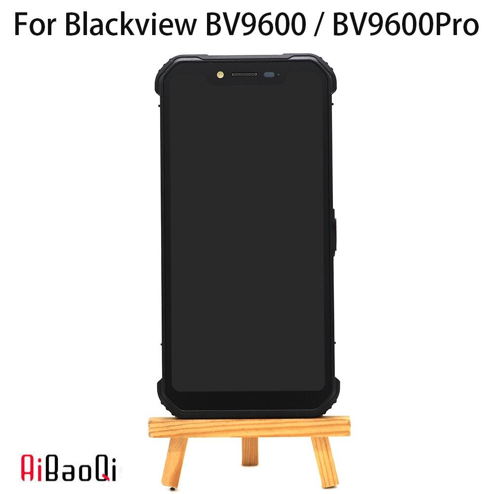 Новый 6,21 дюймовый сенсорный экран + 2248x1080 ЖК-дисплей + рамка в сборе Замена для Blackview BV9600/BV9600 Pro/BV9600E Android 9,0