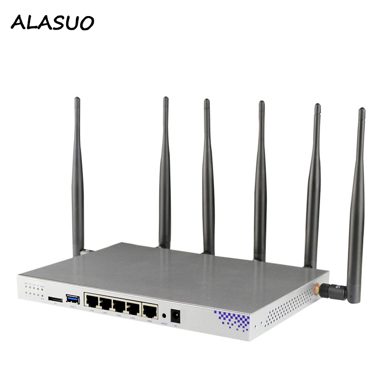 Home / Industry / Office Wifi Router 4G Modem Usb 3.0 Wireless Router 2.4/5 Ghz Wifi Repeater Gigabit Router Openwrt System image