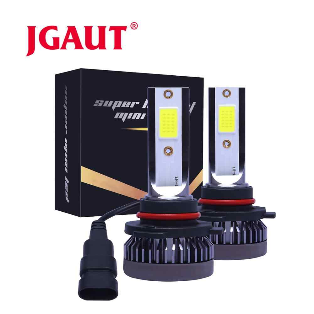 JGAUT Mini Model LED H7 H4 Lights H11 H1 H8 H9 9005 HB3 9006 HB4 9012 Fog Lights Lamp Auto Bulbs 60W 12000LM 12V 24V Headlamp