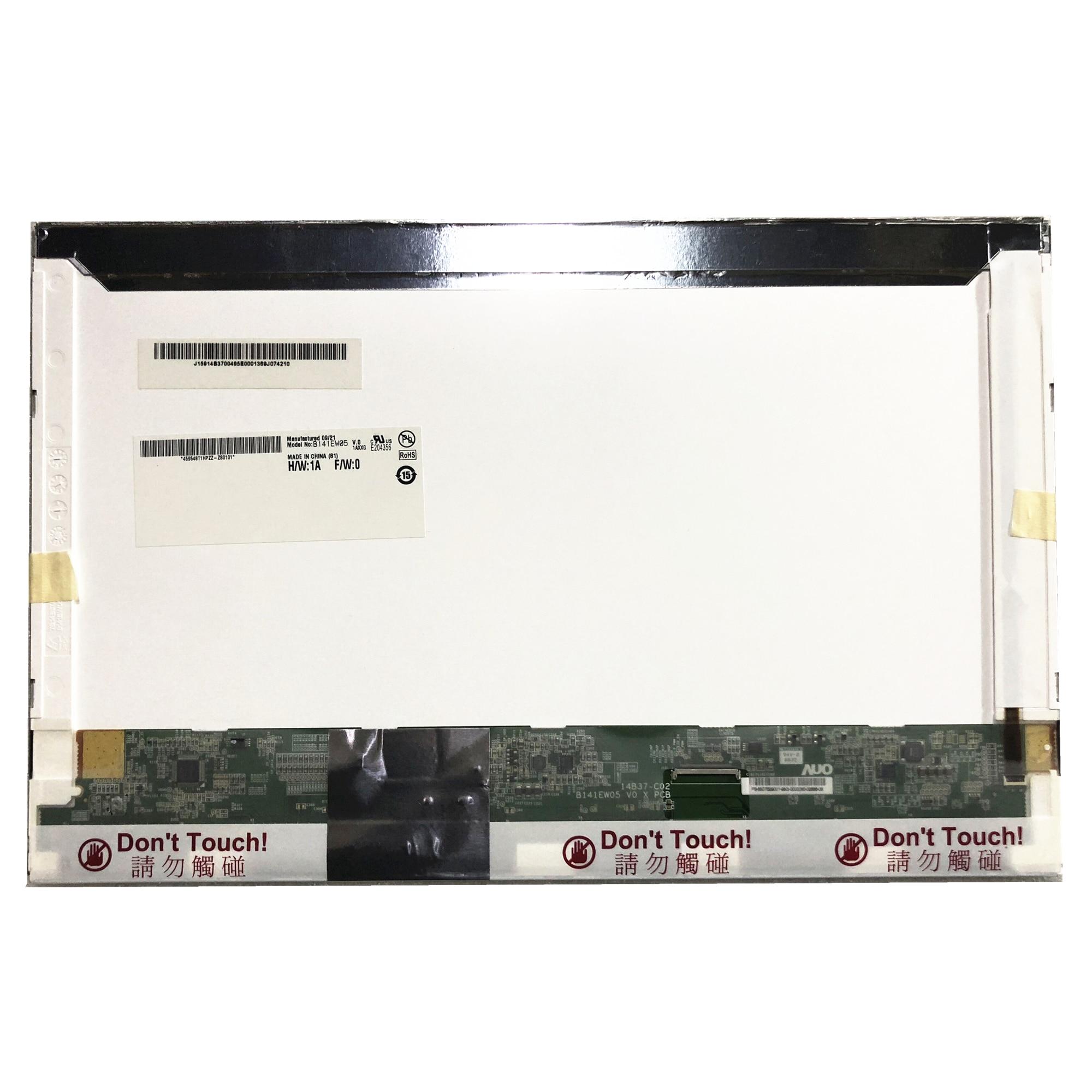 B141EW05 V.0 Fit LTN141AT06 LP141WX5 TLA1 Argento Piccolo 40 PIN SCHERMO LED LCD NUOVO