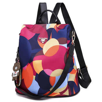 New Female Anti Theft Bagpacks Oxford Multifuction Bagpack Casual Anti Theft School Bags for Girls Mochila Mujer 2020 Sac A Dos - DISCOUNT ITEM  50 OFF All Category