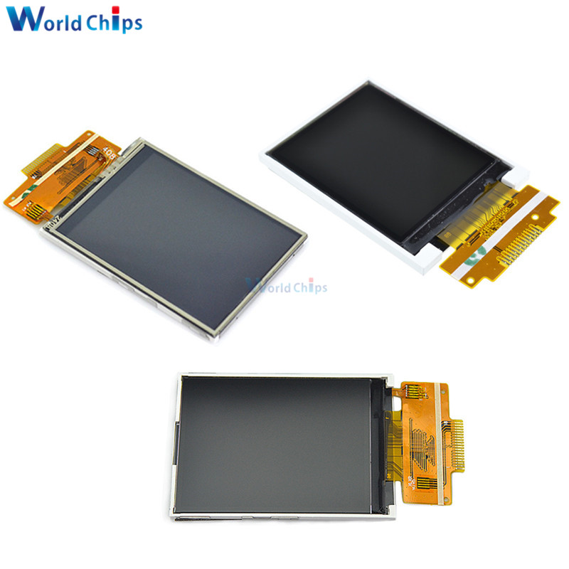 1.8 inch 2.4 inch <font><b>TFT</b></font> Color Bare Screen LCD Display Module Drive ST7735 ILI9341 Interface <font><b>SPI</b></font> Serial 128*160 240*320 for <font><b>arduino</b></font> image