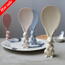 Standing Spoon Paddle Rice Korean Cute New Non-Stick for Hot-Sales Rabbit-Shaped Fashion