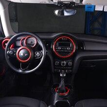 רכב ניווט קישוט מדבקה עבור BMW מיני F55 F56 F57 מרכזי בקרת מכשיר פנל כיסוי אביזרי שינוי רכב
