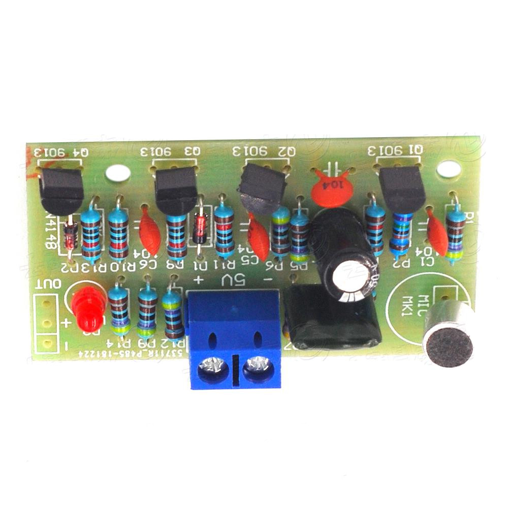 Taidacent Electronic Light Sensitive Activated Sound Sensor Clap Switches Pcb Module Clapping Voice On Off Clap Switch By Hand