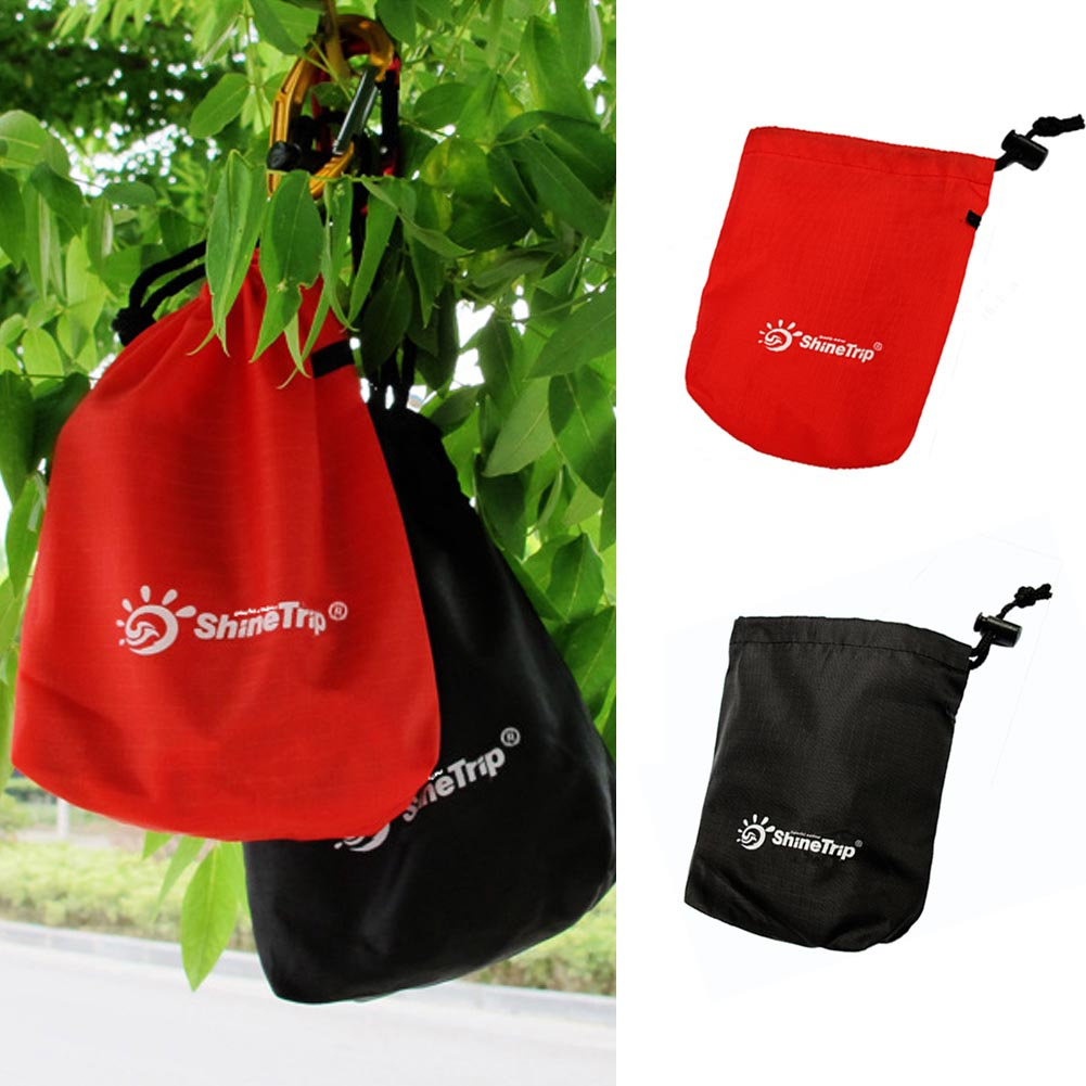 Cycling Portable Fishing Outdoor Equipment Sundries Camping Practical Drawstring Hanging Waterproof Storage Bag
